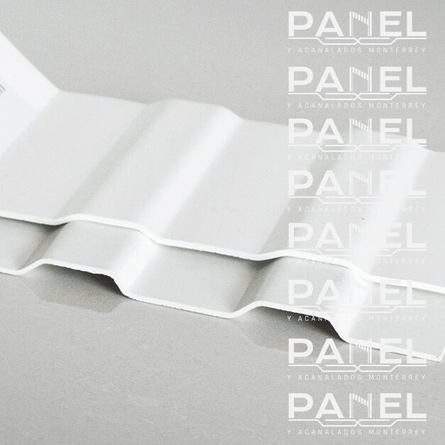 Lámina unicapa de PVC.